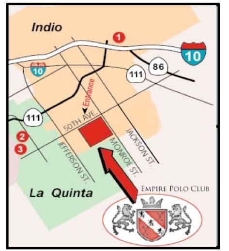 map — Empire Polo Club