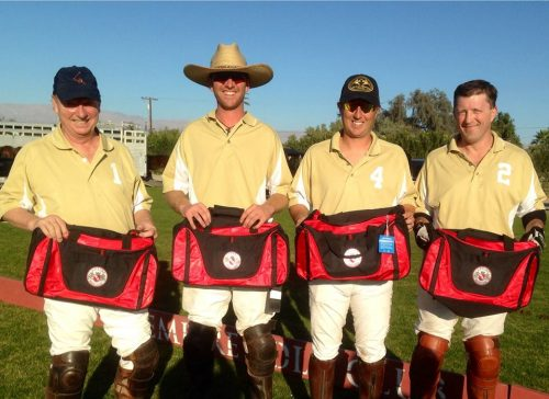 Coldwell Banker/ Menlo won the 4-Goal Jackelope Cup on Dec. 22nd.  Chip McKenney, Peter Blake, Jared Sheldon, Shane Flock