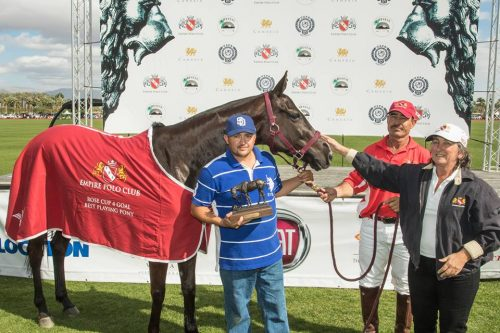 4-Goal BPP - Lacey, a mare played by Lolo Payan and owned by Vicky Owens.