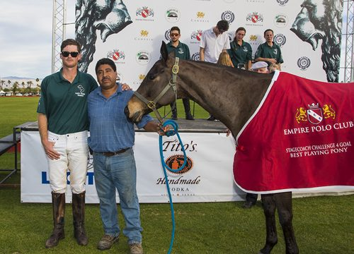 Jake Stimmel's horse won Best Playing Pony.