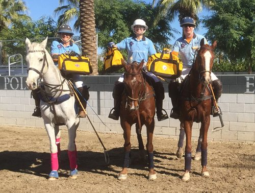 Ponytail won the B Flight: Polo: Susan Guggenheim, Zinta Rewald, Jeffery Rewald
